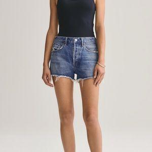 AGOLDE High Rise Jean Shorts